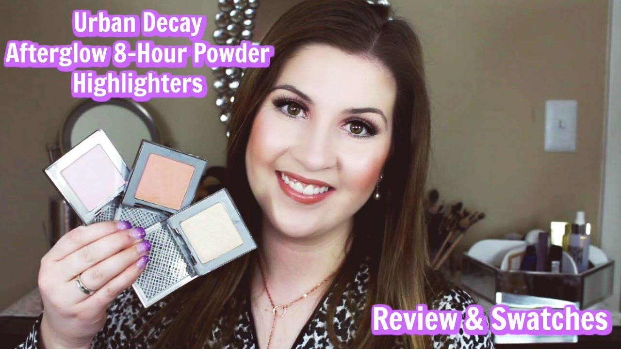 urban decay highlighter afterglow review