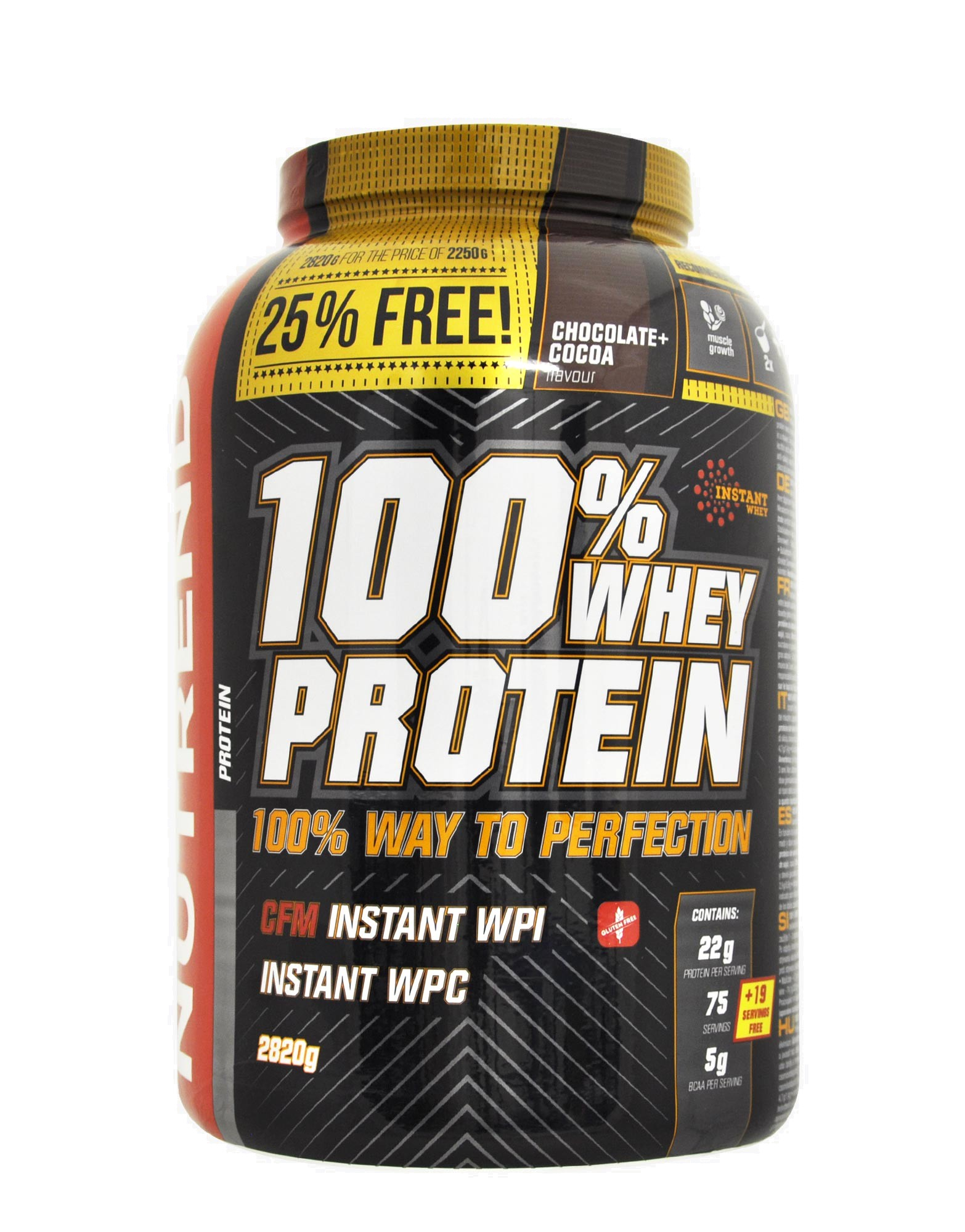 nutrend 100 whey protein review