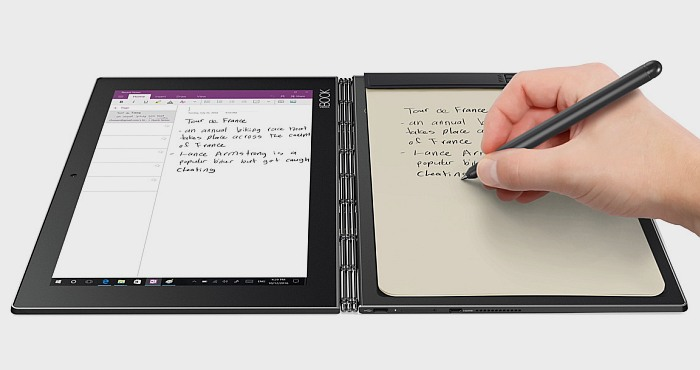 lenovo yoga book 64gb android tablet review