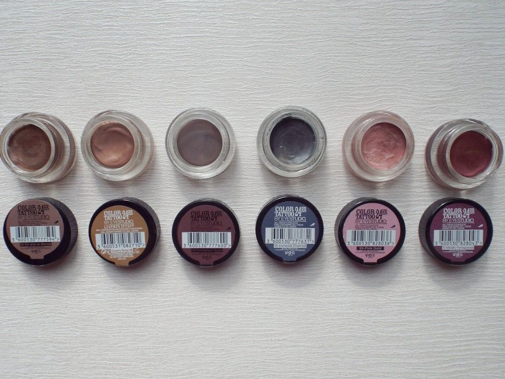 maybelline color tattoo eyeshadow review