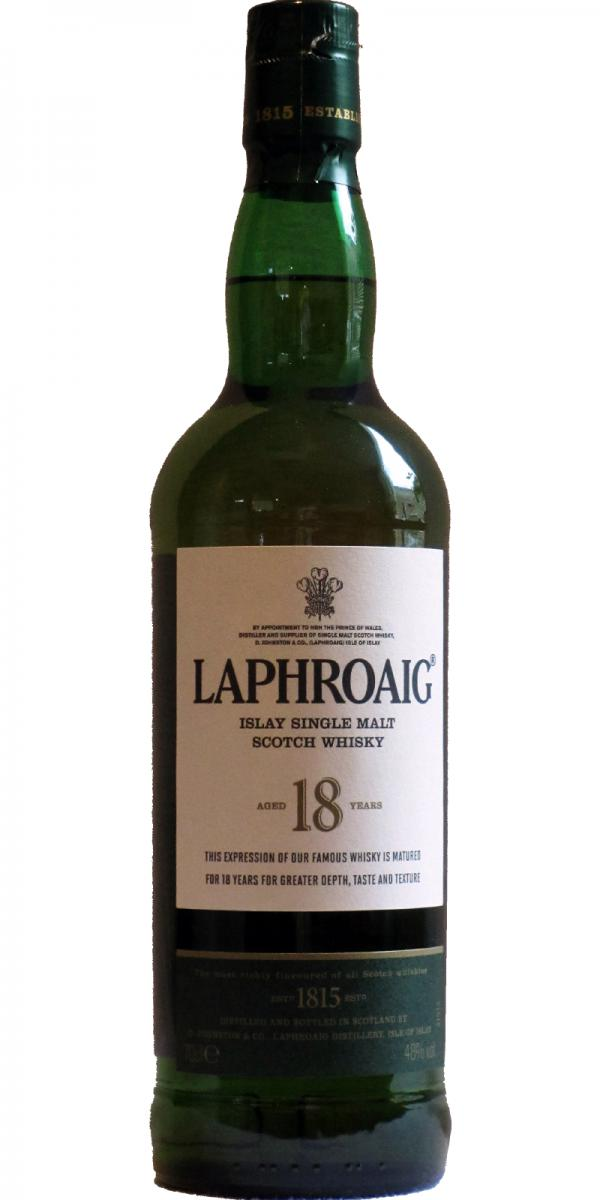 laphroaig 18 year old review