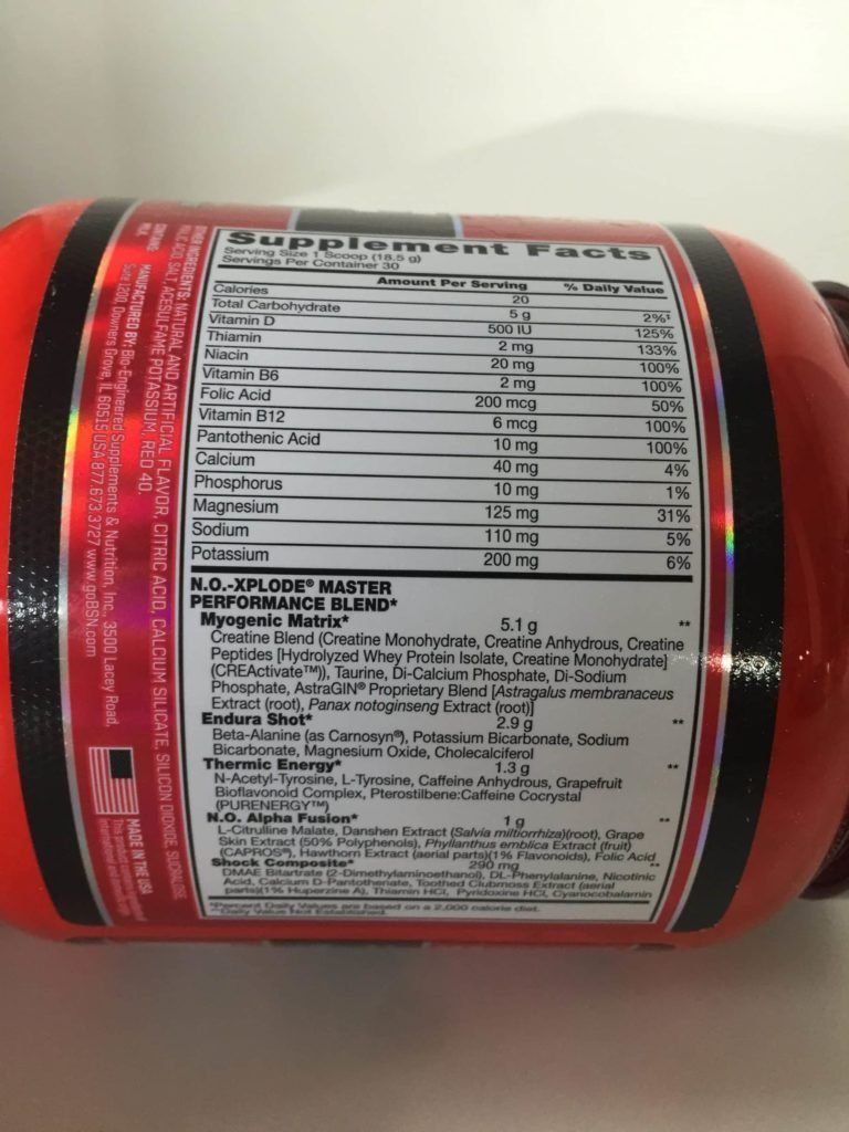 no xplode pre workout igniter review