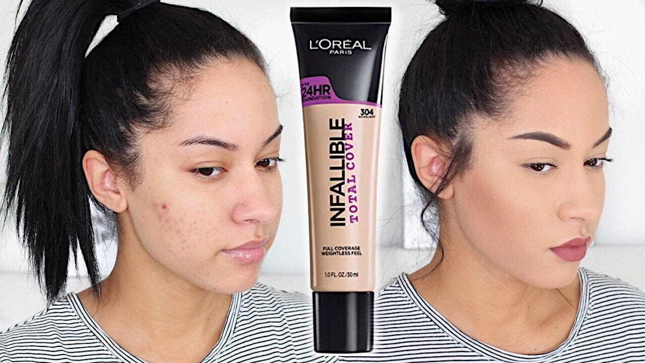 review l oreal infallible foundation