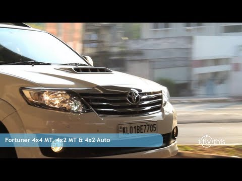 toyota fortuner 4x2 automatic review