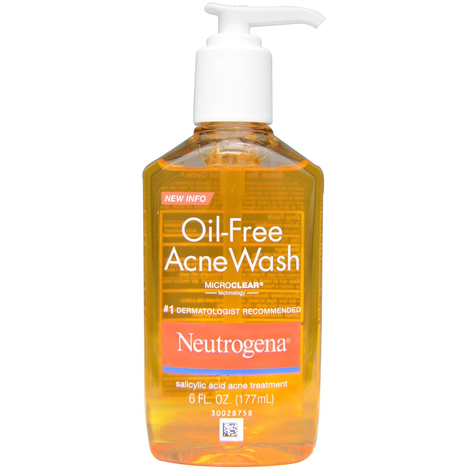 neutrogena oil free face wash review
