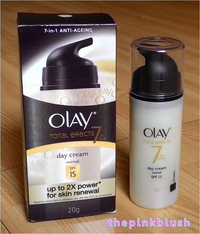 olay total effects gentle day cream review