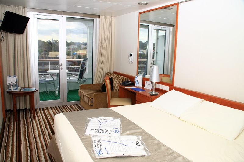 pacific jewel balcony cabin review